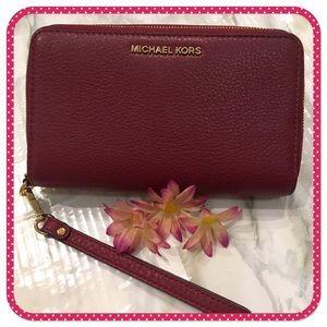 💝 MICHAEL KORS 💝 large phone & card case/wallet